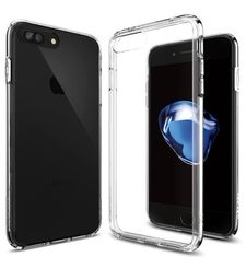 SPIGEN IPHONE 7 / IPHONE 8 BACK CASE ULTRA HYBRID CRYSTAL CLEAR
