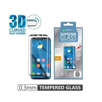 AT TEMPERED GLASS CURVED GALAXY S8