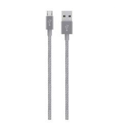 BELKIN USB TO MICRO USB BRAIDED PREMIUM,  space grey