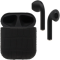 APPLE AIRPODS BLACK LABEL EDITION ALLIGATOR CARBON
