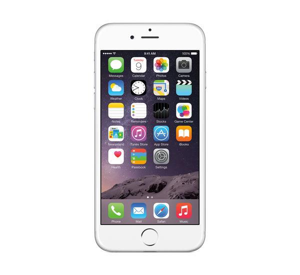 APPLE IPHONE 6, silver, 16gb