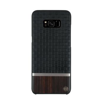 UUNIQUE GALAXY S8 BOOK TYPE CASE BLACK BROWN