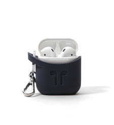 KENU APPLE AIRPOD SILICONE CASE POD POCKET,  indigo blue