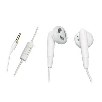 SANDBERG ON EAR STEREO EARPHONE GO,  white
