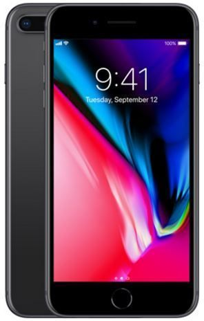 APPLE IPHONE 8 PLUS, space gray, 64gb