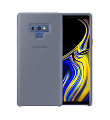 SAMSUNG GALAXY NOTE 9 SILICONE COVER CASE,  gray blue