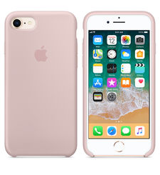 APPLE IPHONE 8/7 SILCONE CASE,  pink sand