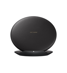 FOC SAMSUNG WIRELESS CHARGING STAND WITH ADAPTER BLACK - NOT FOR SALE