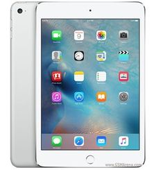 APPLE IPAD MINI 4 WIFI, 128 GB,  فضي