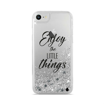 PURO IPHONE 7 / IPHONE 8 BACK CASE,  silver