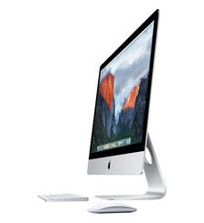 APPLE IMAC MK462LL/A WITH 27 INCH RETINA 5K IPS DISPLAY, INTEL CORE I5 SKYLAKE, 1TB, 8GB, 2GB VGA, OS EL CAPITAN, SILVER