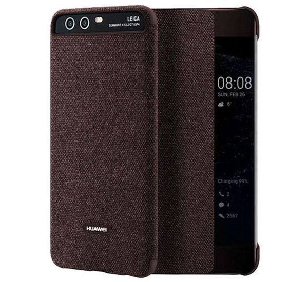 vasta selezione di c69fc 4b055 HUAWEI P10 PLUS VIEW COVER, brown