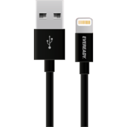 EVEREADY LIGHTNING CABLE 1M,  black
