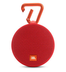 JBL CLIP 2 FULL-FEATURED WATERPROOF ULTRA-PORTABLE SPEAKER,  red