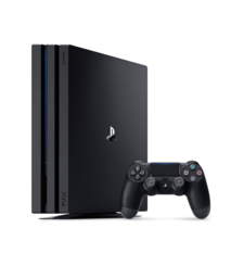 PS4 Pro with 1 Controller