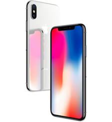 APPLE IPHONE X,  gray , 64gb