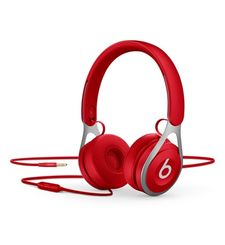 BEATS ON EAR HEADPHONES EP BLACK,  red