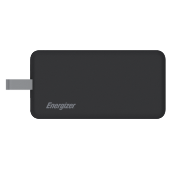 ENERGIZER POWER BANK 8000MAH TYPE C UE8002CQ,  black