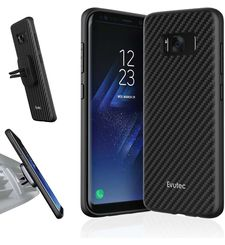 EVUTEC GALAXY S8 PLUS BACK CASE BLACK