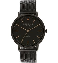KENNETH COLE WATCH,  black