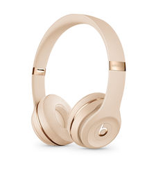 BEATS SOLO3 WIRELESS ON-EAR HEADPHONES,  satin gold