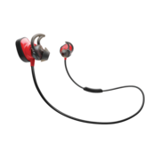 BOSE SOUNDSPORT PULSE WIRELESS HEADPHONES POWER,  red