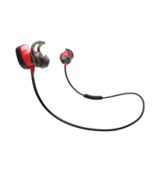 BOSE SOUNDSPORT PULSE WIRELESS HEADPHONES POWER,  red