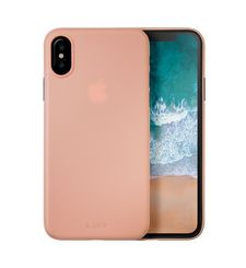 LAUT IPHONE X BACK CASE SLIMSKIN,  pink