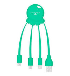 XOOPAR CHARGING CABLE MATT,  mint