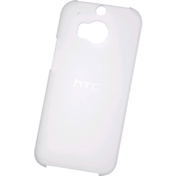 HTC ONE M8 HARD SHELL TRANSLUCENT,  white