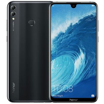 HONOR 8X MAX 128GB 4G DUAL SIM,  black