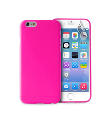 """PURO IPHONE 6 4.7"""" ULTRA-SLIM"""" 0.3"""" COVER with Screen Protector included,  pink"""