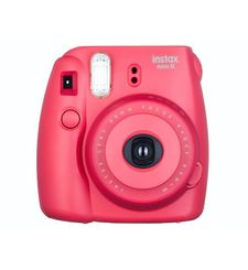 FUJIFILM INSTAX MINI 8 POLAROID CAMERA,  raspberry