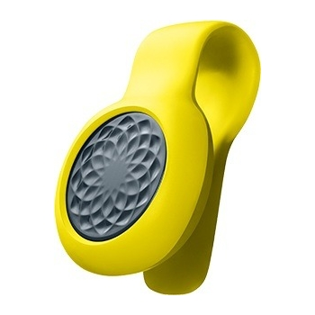 JAWBONE UP MOVE WITH YELLOW SLIM STRAP SLATE ROSE