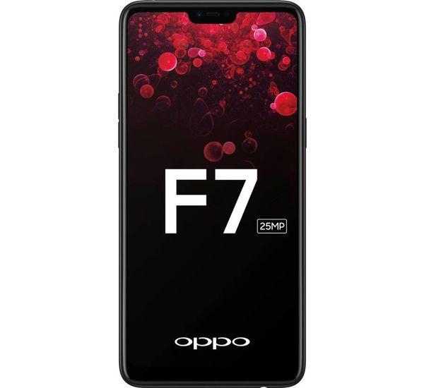 OPPO F7 DUAL SIM, black, 64gb