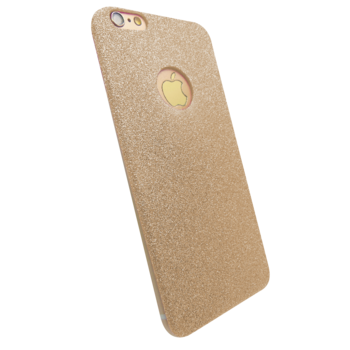 MYCANDY IPHONE 7 / IPHONE 8 BACK CASE MOONRAY GLITTER GOLD