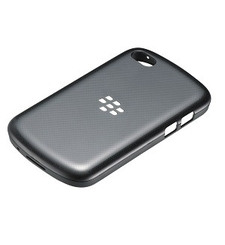 BLACKBERRY Q10 HARD SHELL,  black