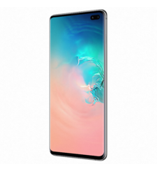 SAMSUNG GALAXY S10 PLUS DUAL SIM,  ceramic white, 1tb