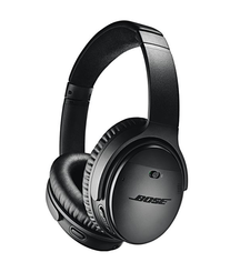 BOSE QUIET COMFORT 35II BLUETOOTH NOISE CANCELLATION HEADPHONE,  black