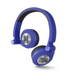JBL ON EAR STEREO HEADSET E30,  blue