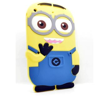 MINIONS IPAD MINI BACK CASE SILICONE