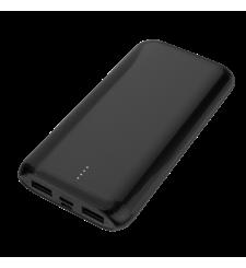 ماي كاندي شاحن متنقل 10000 مللي آمبير SLIM منفذ USB مزدوج و مدخل \ مخرج نوع-C ,  Black