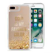 PURO IPHONE 7 / IPHONE 8 BACK CASE,  gold
