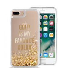 PURO IPHONE 7 / IPHONE 8 BACK CASE,  gold