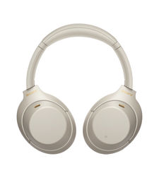 SONY WIRELESS NOISE CANCELLING HEADPHONE WH-1000XM4,  silver