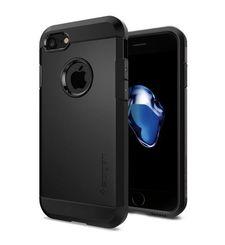 SPIGEN IPHONE 7 / IPHONE 8 BACK CASE TOUGH ARMOR BLACK