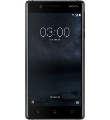 نوكيا 3 16GB ثنائي الشريحة,  أسود