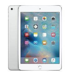 APPLE IPAD MINI 4 4G, 128 GB,  فضي