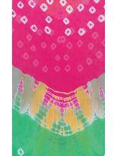 Veera Paridhaan Georgette Printed Womens Dupatta (VP0005_ M), multicolor