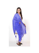 Veera Paridhaan Georgette Printed Womens Dupatta (VP00025), blue